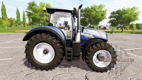 New Holland T7.315 blue power for Farming Simulator 2017