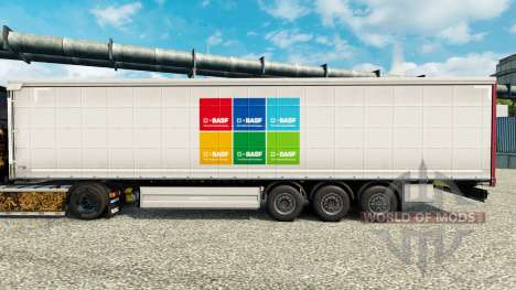 Skin BASF SE semi for Euro Truck Simulator 2