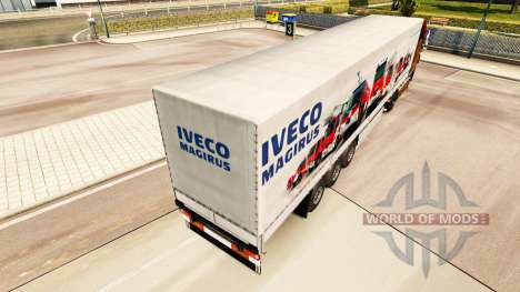 Skin Iveco Magirus for trailers for Euro Truck Simulator 2