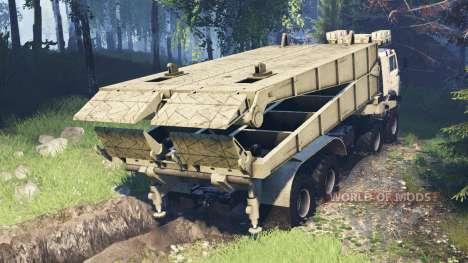 KamAZ-63501-996 Mustang v5.0 for Spin Tires