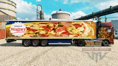 Skin for Wagner semi for Euro Truck Simulator 2
