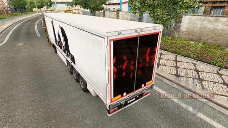 Skin BUG Mafia for trailers for Euro Truck Simulator 2