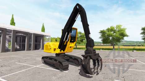 Boom bucket backhoe loader for Farming Simulator 2017