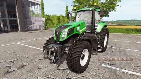 New Holland T8.320 green edition for Farming Simulator 2017