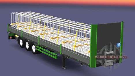 Flatbed semi-trailer Kogel for Euro Truck Simulator 2