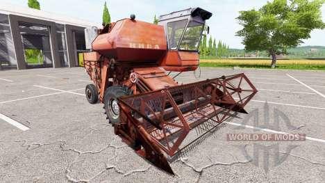 Rostselmash SK-5 Niva for Farming Simulator 2017