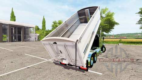 Peterbilt 389 grain truck v2.0 for Farming Simulator 2017