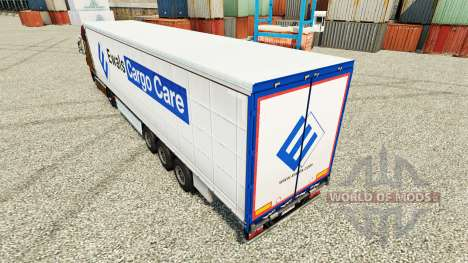 Skin Care in Poland Cargo trailers for Euro Truck Simulator 2