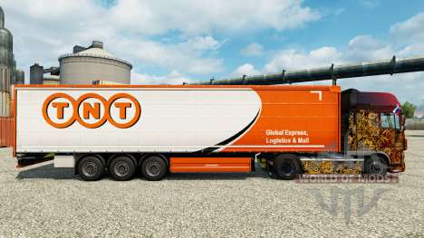 TNT skin for trailers for Euro Truck Simulator 2