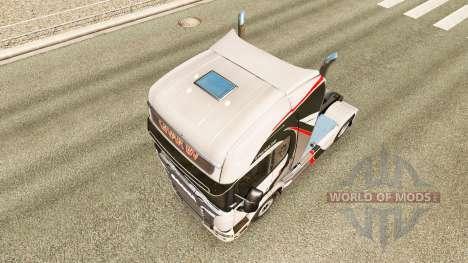 GiVAR BV skin for Scania truck for Euro Truck Simulator 2