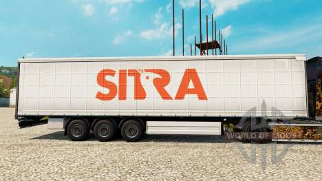 Sitra skin for trailers for Euro Truck Simulator 2