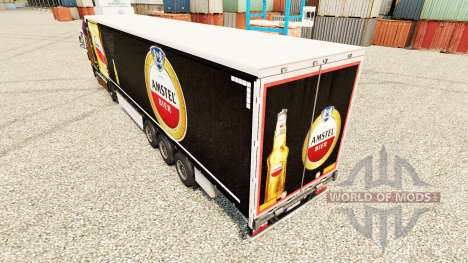 Skin Amstel to trailers for Euro Truck Simulator 2