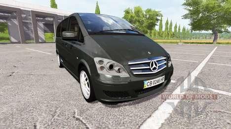 Mercedes-Benz Viano v0.8 for Farming Simulator 2017