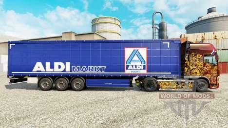 Skin Aldi Markt for semi-trailers for Euro Truck Simulator 2
