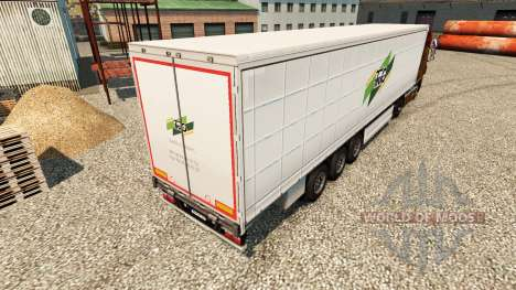 Skin Tmg Loudeac on semi for Euro Truck Simulator 2