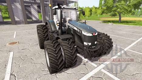 Massey Ferguson 8737 black edition for Farming Simulator 2017