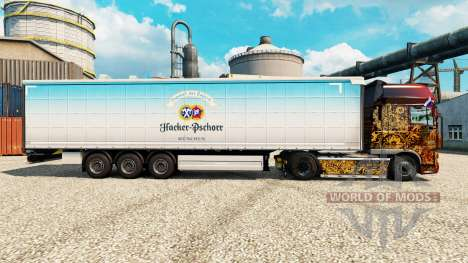 Skin Hacker-Pschorr on semi for Euro Truck Simulator 2