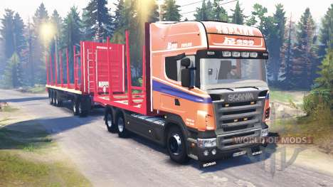Scania R620 v2.0 for Spin Tires
