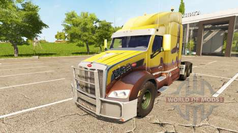 Peterbilt 579 for Farming Simulator 2017