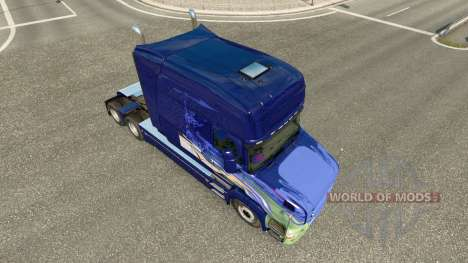 Skin for truck Scania T for Euro Truck Simulator 2