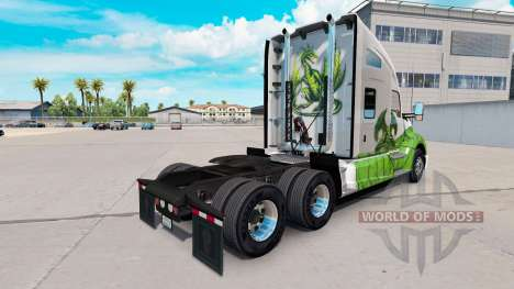 Skin Dragon for truck Kenworth for American Truck Simulator