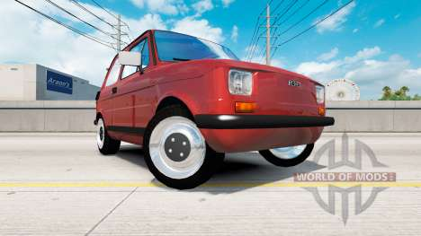 Fiat 126p for American Truck Simulator