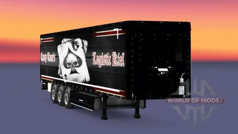 Skin Crasy Trans Logistic Kiel for trailers for Euro Truck Simulator 2