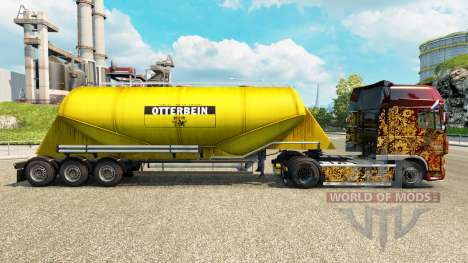 Skin Otterbein cement semi-trailer for Euro Truck Simulator 2