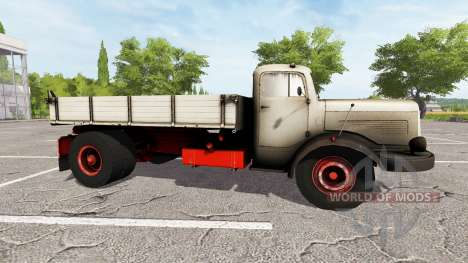 Mercedes-Benz 334K for Farming Simulator 2017