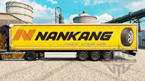 Nankang skin for trailers for Euro Truck Simulator 2