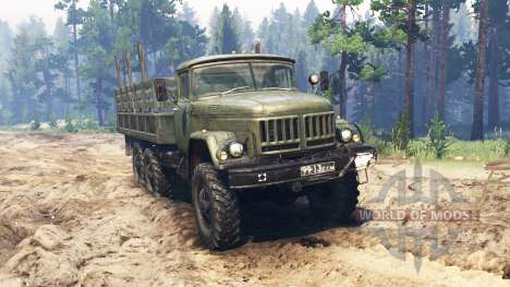 ZIL-131 IZOKU for Spin Tires