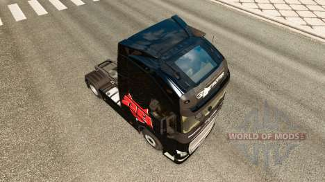 Hell Raisers skin for Volvo truck for Euro Truck Simulator 2