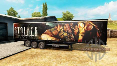 Skin S. T. A. L. K. E. R. on semi for Euro Truck Simulator 2