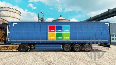 Skin BASF Societas Europaea on semi for Euro Truck Simulator 2