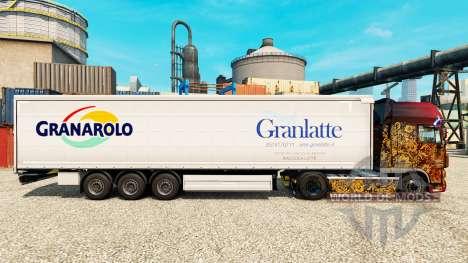 Skin Granlatte for trailers for Euro Truck Simulator 2