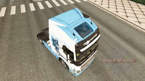 The Vaya con Dios skin for Volvo truck for Euro Truck Simulator 2