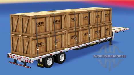Low sweep with construction loads v1.3 for American Truck Simulator