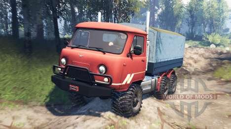 UAZ-33036 6x6 v3.0 for Spin Tires
