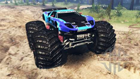 Ford GT [monster truck] for Spin Tires