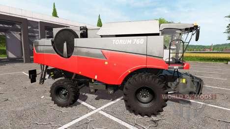 Rostselmash Torum 760 red for Farming Simulator 2017