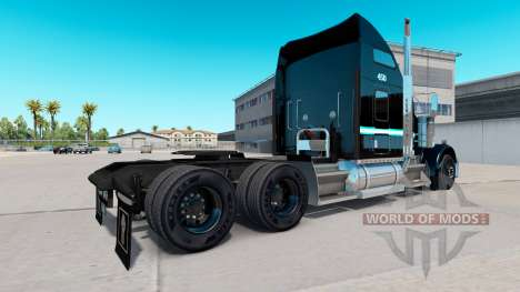 Skin Ervins Transport on truck Kenworth W900 for American Truck Simulator