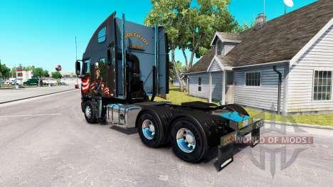 Skin Uncle Sam on the truck Freightliner Argosy for American Truck Simulator