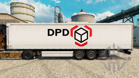 Skin Dynamic Parcel Distribution for trailers for Euro Truck Simulator 2