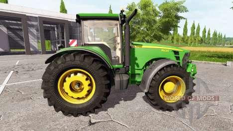 John Deere 8530 v1.1 for Farming Simulator 2017