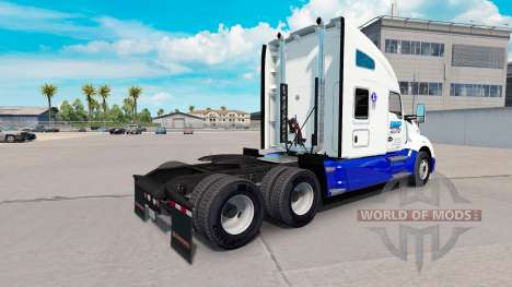 Skin BMP Haulage Transport on tractor Kenworth for American Truck Simulator