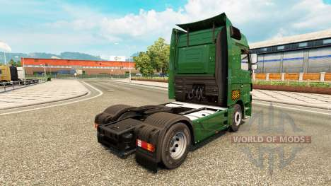 Bullets Holes skin for Mercedes truck Benz for Euro Truck Simulator 2