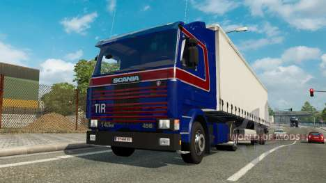 A collection of truck transportation to traffic  for Euro Truck Simulator 2