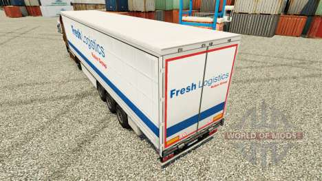 Fresh Logistics skin for trailers for Euro Truck Simulator 2