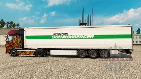 Schaumberger Spedition skin for trailers for Euro Truck Simulator 2