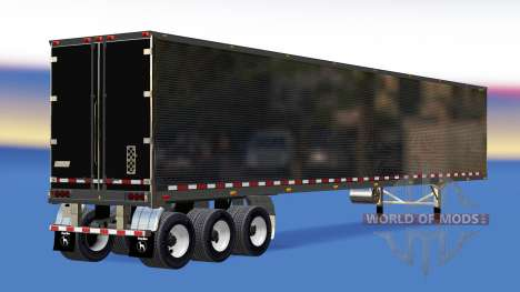 Chrome semi-refrigerated for American Truck Simulator